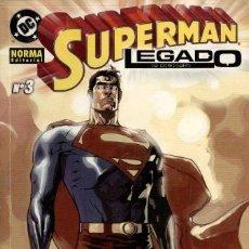 Cómics: SUPERMAN LEGADO Nº 3. Lote 148372258