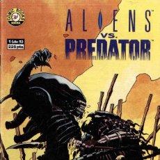 Cómics: ALIENS VS PREDATOR Nº 1. Lote 148375230
