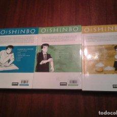 Cómics: OISHINBO - Nº 1 COCINA JAPONESA - Nº 5 VERDURAS - Nº 6 ARROZ - NORMA EDITORIAL - . Lote 148569754