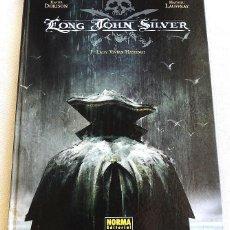 Cómics: LONG JOHN SILVER - TOMOS DEL 1 AL 4 - COLECCIÓN COMPLETA - NORMA - DORISON - LAUFFRAY. Lote 148627094