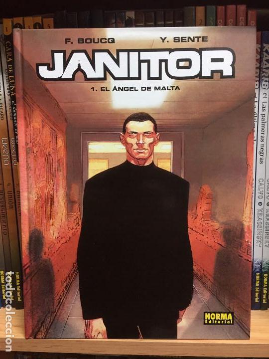 JANITOR 1, EL ANGEL DE MALTA, DE YVES SENTE Y FRANÇOIS BOUCQ (Tebeos y Comics - Norma - Comic Europeo)