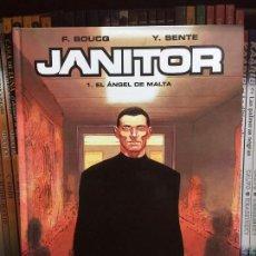 Cómics: JANITOR 1, EL ANGEL DE MALTA, DE YVES SENTE Y FRANÇOIS BOUCQ. Lote 148735038