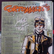 Cómics: COLECCION CORTOMALTES , COFRE 2 , COMPLETA , DEL 11 AL 22 , NORMA , ORIGINAL. Lote 149370178