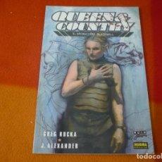 Cómics: QUEEN & COUNTRY Nº 4 OPERACION BLACKWALL ( GREG RUCKA ) ¡MUY BUEN ESTADO! NORMA NOIR 9. Lote 149396074