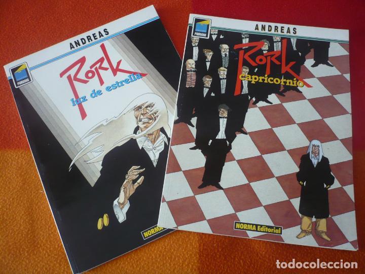 RORK 2 Y 3 CAPRICORNIO + LUZ DE ESTRELLA ( ANDREAS ) ¡MUY BUEN ESTADO! PANDORA NORMA (Tebeos y Comics - Norma - Comic Europeo)