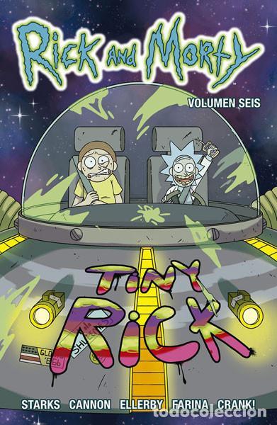 CÓMICS. RICK Y MORTY 6 - KYLE STARKS/CJ CANNON/MARC ELLERBY (Tebeos y Comics - Norma - Comic USA)