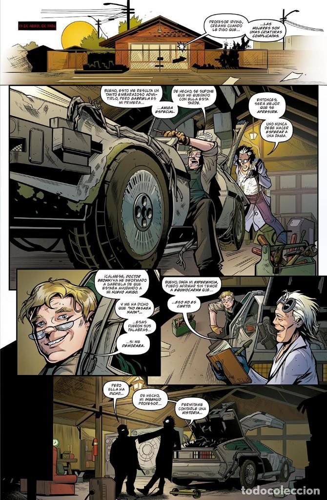 Cómics: Cómics. REGRESO AL FUTURO 5. TIEMPOS DIFÍCILES - John Barber/Bob Gale/Ferreira (Cartoné) - Foto 2 - 149536958
