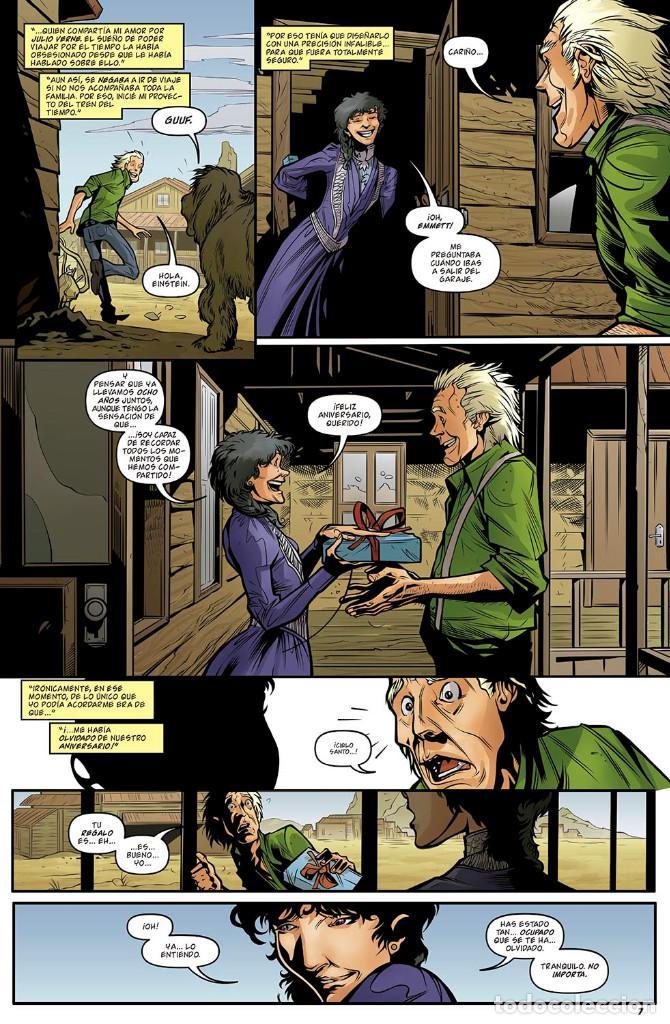 Cómics: Cómics. REGRESO AL FUTURO 5. TIEMPOS DIFÍCILES - John Barber/Bob Gale/Ferreira (Cartoné) - Foto 4 - 149536958