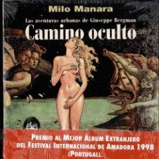 Cómics: MILO MANARA, CAMINO OCULTO, TAPA BLANDA. Lote 149538778