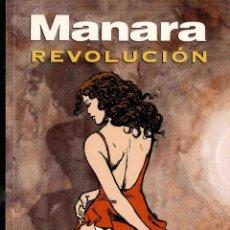 Cómics: MILO MANARA, REVOLUCIÓN, TAPA BLANDA. Lote 150063013