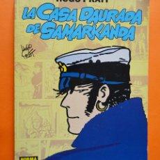 Cómics: LA CASA DAURADA DE SAMARKANDA - CORTO MALTES - HUGO PRATT - NORMA COMICS - 1992 - CATALÀ. Lote 149982818
