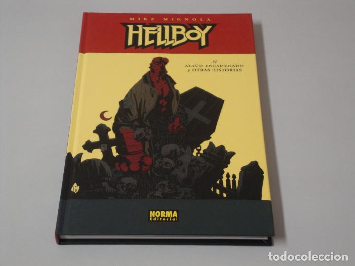 HELLBOY EL ATAUD ENCADENADO Y OTRAS HISTORIAS (Tebeos y Comics - Norma - Otros)