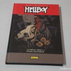 Cómics: HELLBOY LA BRUJA TROLL Y OTRAS HISTORIAS. Lote 150069854