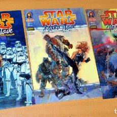 Cómics: STAR WARS - MARA JADE - POR LA MANO DEL EMPERADOR - COMPLETA 3 TOMOS - EDITORIAL NORMA, FEBRERO 2000. Lote 150357922