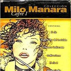 Cómics: COLECCIÓN MILO MANARA - (COFRE 1) - TOMOS DEL 1 AL 17. Lote 201119125