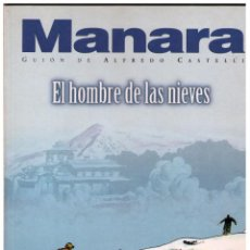 Cómics: EL HOMBRE DE LAS NIEVES COL. MANARA COLOR Nº 16 - NORMA - IMPECABLE. Lote 151538078