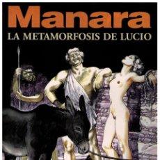 Cómics: LA METAMORFOSIS DE LUCIO COL. MANARA COLOR Nº 14 - NORMA - IMPECABLE. Lote 151542018