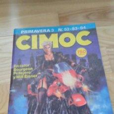Cómics: COMIC NORMA CIMOC TOMO ESPECIAL PRIMAVERA 3 NUMEROS 52 53 54. Lote 151545890