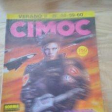 Cómics: COMIC NORMA CIMOC TOMO ESPECIAL VERANO 3 NUMEROS 58 59 60. Lote 151546326