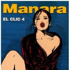 Cómics: EL CLIC 4 COL. MANARA COLOR Nº 18 - NORMA - IMPECABLE. Lote 151550250