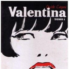 Cómics: VALENTINA - TOMO 1 - GUIDO CREPAX - NORMA - IMPECABLE. Lote 151550562