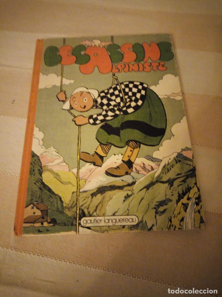 BECASSINE ALPINISTE 1975. GAUTIER-LANGUEREAU.LOMO DE TEJIDO,EN FRANCES. (Tebeos y Comics - Norma - Comic Europeo)