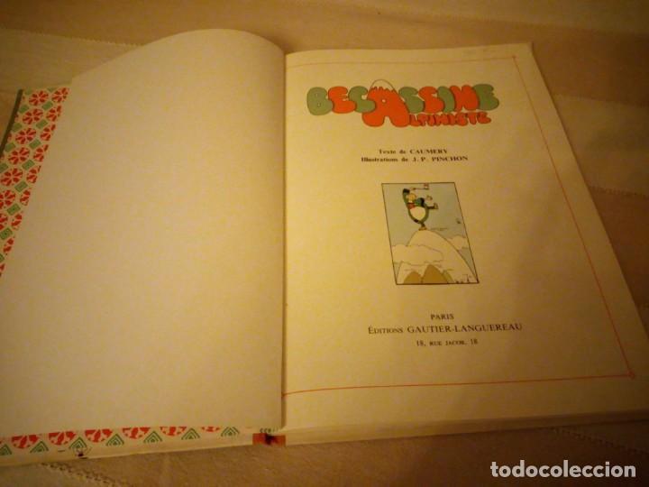 Cómics: becassine alpiniste 1975. gautier-languereau.lomo de tejido,en frances. - Foto 3 - 151875610