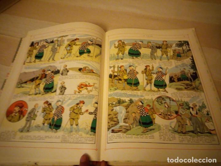 Cómics: becassine alpiniste 1975. gautier-languereau.lomo de tejido,en frances. - Foto 8 - 151875610
