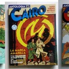 Cómics: LOTE DE 3 ANTOLOGÍAS DE CAIRO * INCLUYENDO 10 NÚMEROS . Lote 151887102