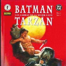 Cómics: BATMAN TARZAN 1 Y 2. Lote 152049538