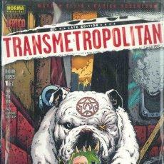 Cómics: TRANSMETRPOLITAN , MATAME A BESOS 1-2. Lote 152053946