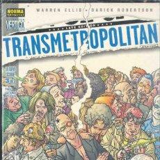 Cómics: TRANSMETRPOLITAN , LA NUEVA ESCORIA Nº 1-2-3. Lote 152054006