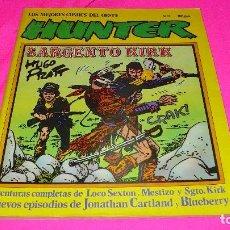 Cómics: HUNTER Nº11.LOS MEJORES COMICS DEL OESTE.. Lote 152356650