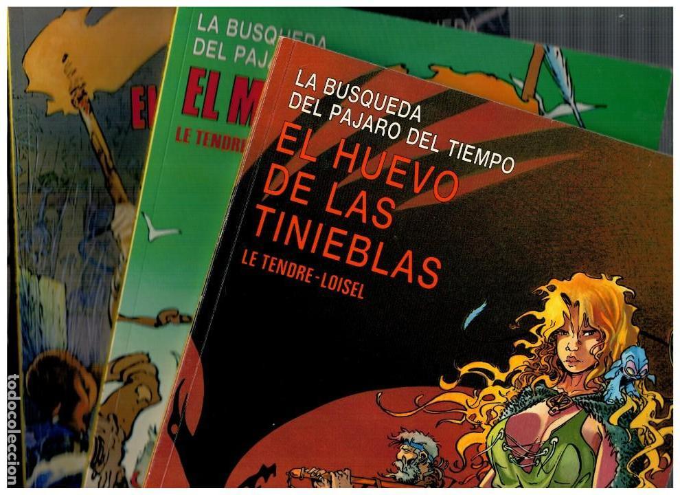 LA BÚSQUEDA DEL PÁJARO DEL TIEMPO. -COMPLETA 4 NºS.CIMOC EXTRA COLOR 17,25,35 Y 48- BUENOS. (Tebeos y Comics - Norma - Cimoc)