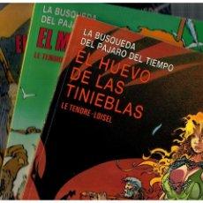 Cómics: LA BÚSQUEDA DEL PÁJARO DEL TIEMPO. -COMPLETA 4 NºS.CIMOC EXTRA COLOR 17,25,35 Y 48- BUENOS.. Lote 206573828