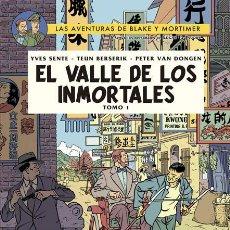 Cómics: CÓMICS. BLAKE Y MORTIMER 25. EL VALLE DE LOS INMORTALES. TOMO 1 - SENTE/BERSERIK/VAN DONGE (CARTONÉ). Lote 181145355