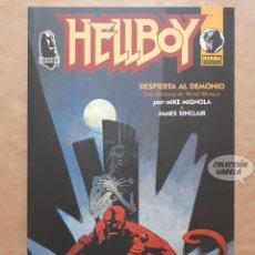 Cómics: HELLBOY - DESPIERTA AL DEMONIO - MIKE MIGNOLA - NORMA - RÚSTICA - JMV. Lote 152441602