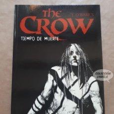 Cómics: THE CROW TIEMPO DE MUERTE - JOHN WAGNER Y ALEX MALEEV - NORMA - JMV. Lote 152444326