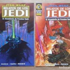 Cómics: STAR WARS RELATOS DE LOS JEDI - EL ALZAMIENTO DE FREEDOM NADD 1 Y 2 COMPLETA - NORMA - JMV. Lote 152445666
