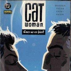 Cómics: CATWOMAN - CAER NO ES FÁCIL -. Lote 152490750
