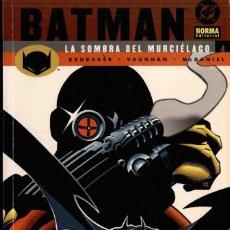 Cómics: BATMAN, LA SOMBRA DEL MURCIÉLAGO Nº 4. Lote 152492370