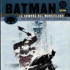 Cómics: BATMAN, LA SOMBRA DEL MURCIÉLAGO Nº 6. Lote 152492430