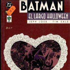 Cómics: BATMAN, EL LARGO HALLOWEEN Nº 3. Lote 152493302