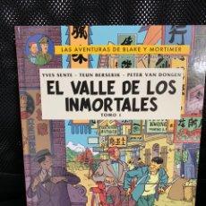 Cómics: BLAKE Y MORTIMER 25 - EL VALLE DE LOS INMORTALES 1 - NORMA. Lote 152517485