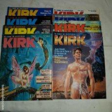 Cómics: KIRK EL COMIC DE AVENTURAS- Nº 4-5-7-8-9-10-11-12. Lote 152559442