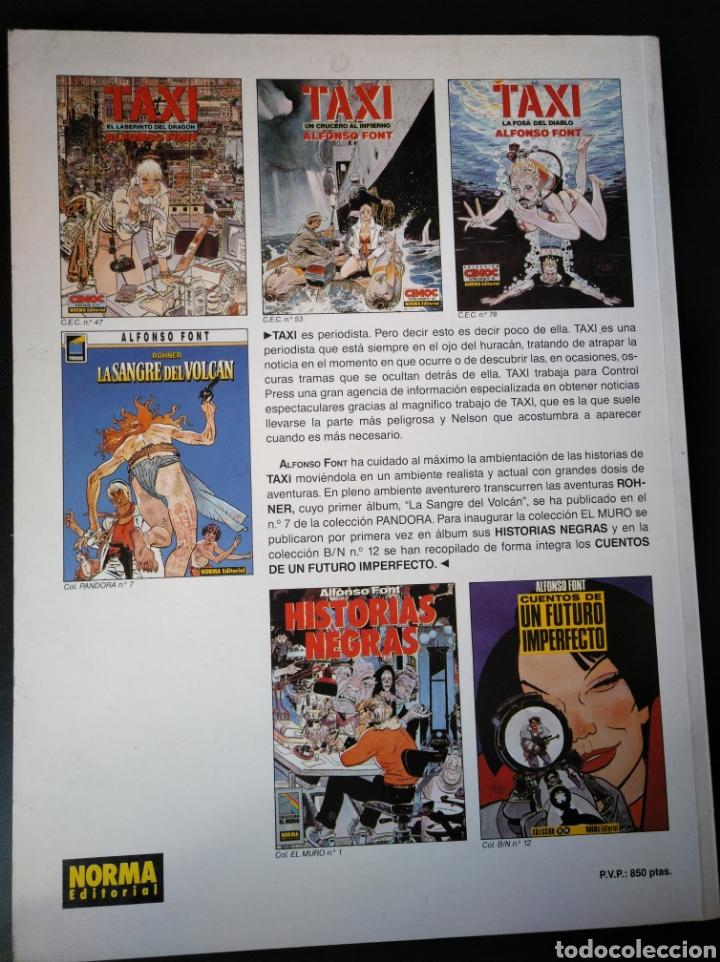 Cómics: LA FOSA DEL DIABLO. TAXI. FONT. NORMA. CIMOC 78. 1991. 1ED. - Foto 3 - 152735692