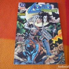 Cómics: LOBO Nº 6 ( ALAN GRANT ) CARACOLES ¡BUEN ESTADO! DC NORMA. Lote 176965740