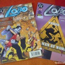 Cómics: LOBO NºS 13 Y 14 ( ALAN GRANT ) ¡BUEN ESTADO! DC NORMA. Lote 176965759