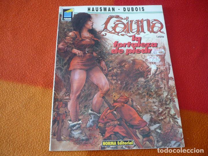 LAYNA LA FORTALEZA DE PIEDRA ( DUBOIS ) NORMA EDITORIAL (Tebeos y Comics - Norma - Comic Europeo)