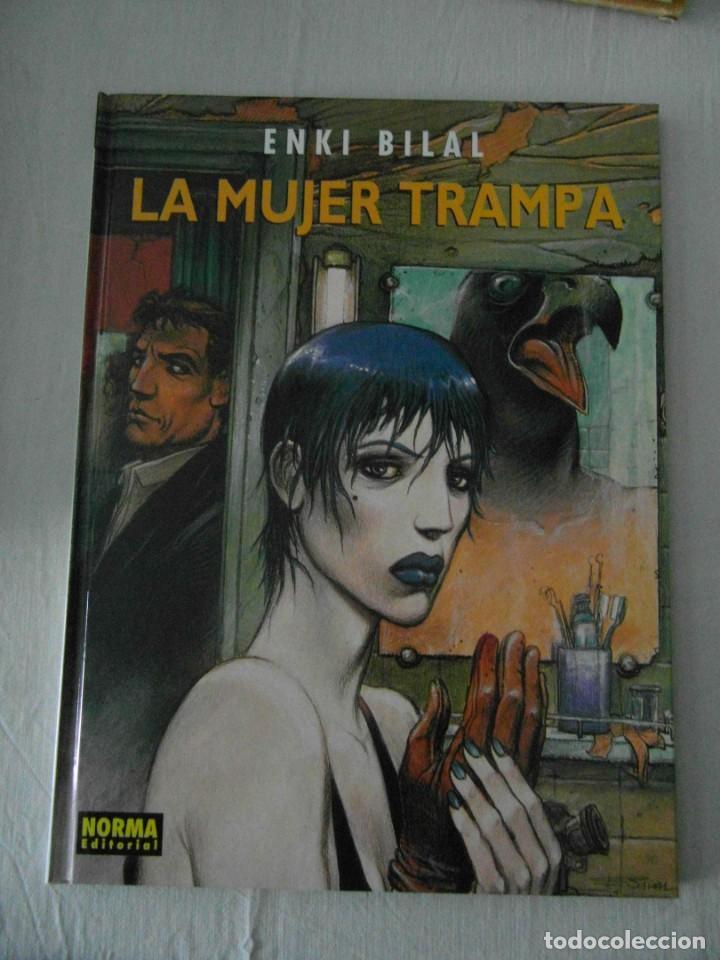 MUY BUEN ESTADO. LA MUJER TRAMPA ENKI BILAL. NORMA 2003 (Tebeos y Comics - Norma - Comic Europeo)